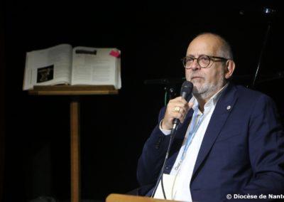 René Gambin, vice-président du consistoire israëlite de Nantes.