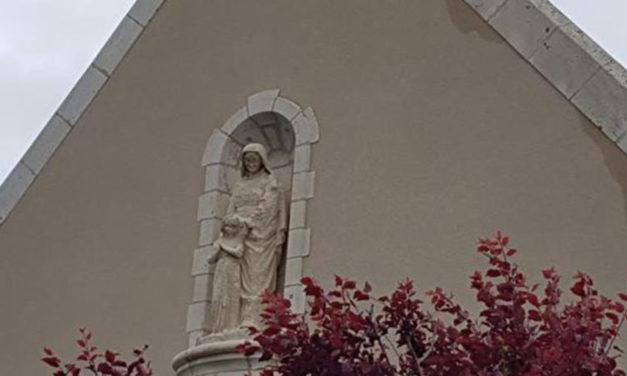 Une nouvelle statue pour la chapelle Sainte-Anne à Pornichet