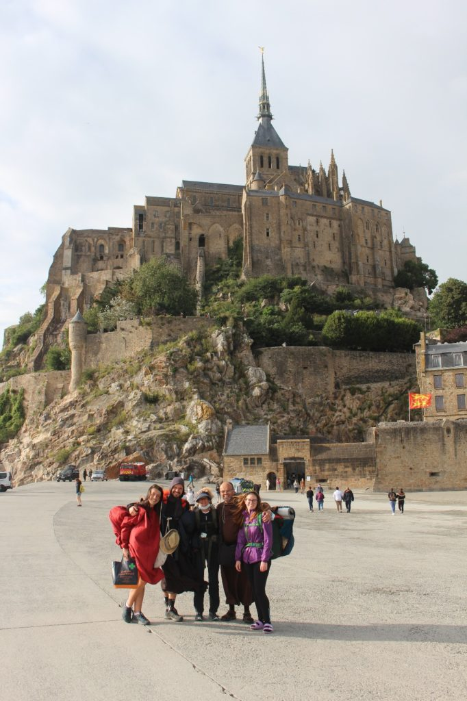 Devant le Mont Saint Michel