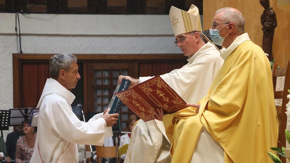 Ordination diaconale d'Emmanuel Mériaux
