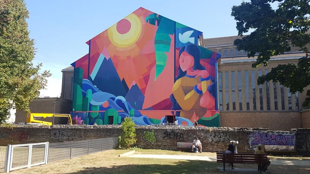 Quand l'art urbain vient au secours de l'église…