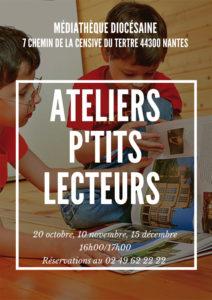 Atelier P'tits lecteurs